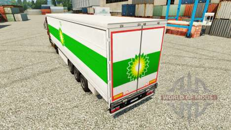 Pele BP na semi para Euro Truck Simulator 2