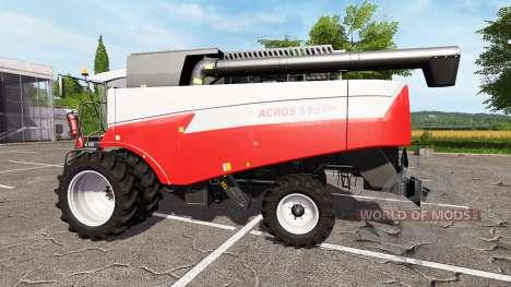 Rostselmash ACROS 595 Além de v1.1 para Farming Simulator 2017