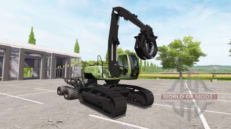 Escavadeira-encaminhador para Farming Simulator 2017