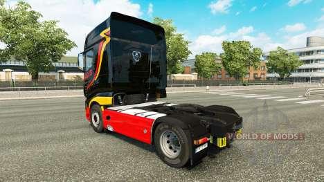 Pirelli pele para a Scania caminhão R700 para Euro Truck Simulator 2