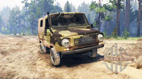 LuAZ-969М o Volyn para Spin Tires