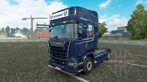 Publicidade caixa de luz para a Scania Streamlin para Euro Truck Simulator 2