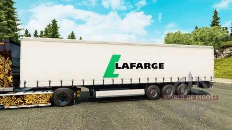 A Lafarge pele para reboques para Euro Truck Simulator 2