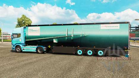 Semi-reboque frigorífico Schmitz Siemens para Euro Truck Simulator 2
