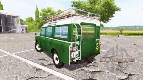 Land Rover Series IIa Station Wagon 1965 v2.0 para Farming Simulator 2017