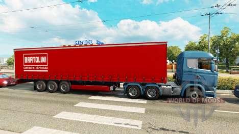 Skins para semi-reboques no tráfego de v0.1 para Euro Truck Simulator 2