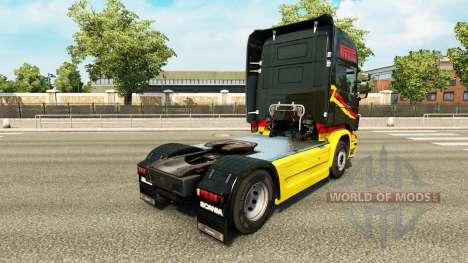 A Pirelli para a pele do Scania truck para Euro Truck Simulator 2