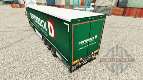 Duvenbeck pele para reboques para Euro Truck Simulator 2