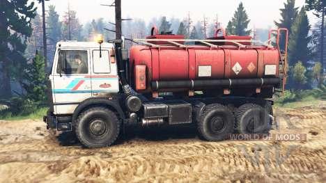 MAZ-6317 v2.0 para Spin Tires