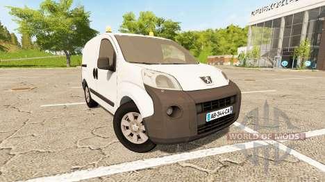 Peugeot Bipper v1.2 para Farming Simulator 2017