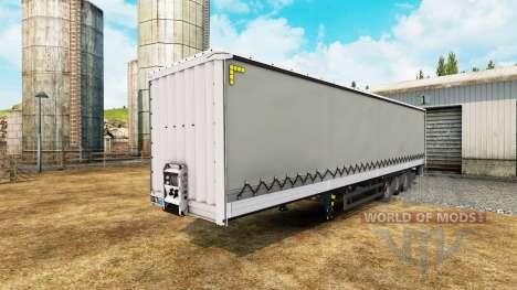Cortina semi-reboque Schmitz Cargobull para Euro Truck Simulator 2