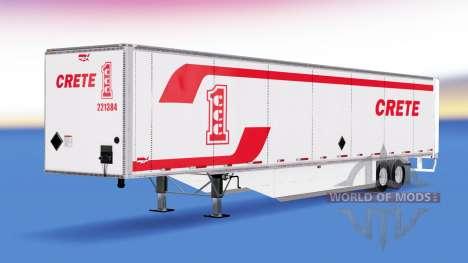 Isométrica semi-reboque Wabash v2.0 para American Truck Simulator