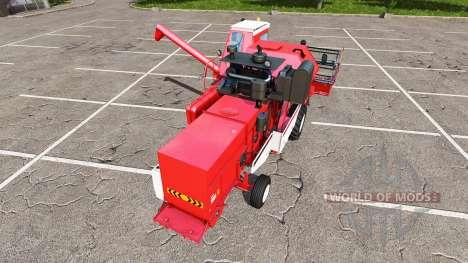 Rostselmash SK-5МЭ-1 Niva-Efeito vermelho para Farming Simulator 2017