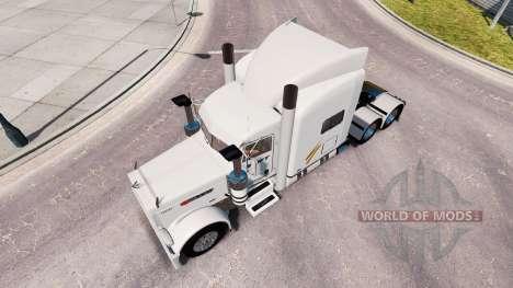 Swift pele para o caminhão Peterbilt 389 para American Truck Simulator