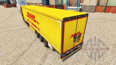 Pele DHL para reboques para Euro Truck Simulator 2