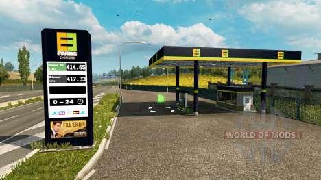 Novas cores para a estação de gás v0.4 para Euro Truck Simulator 2