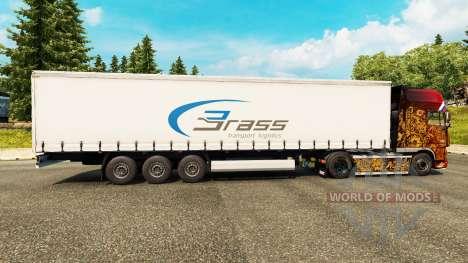 Pele Bronze Logística de Transporte para reboques para Euro Truck Simulator 2