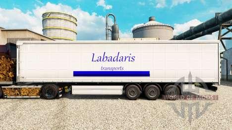 Pele Labadaris Transportes em reboques para Euro Truck Simulator 2