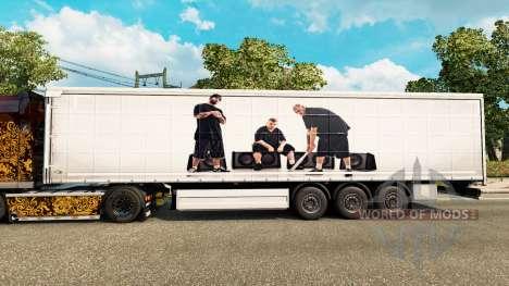 Pele ERRO Máfia para reboques para Euro Truck Simulator 2