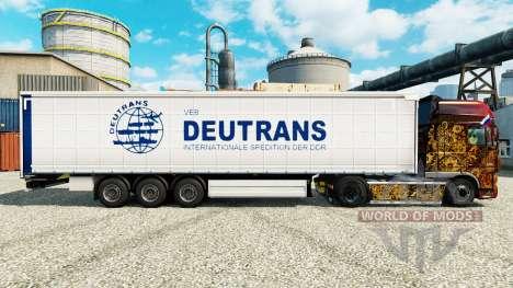 A pele é semi Deutrans para Euro Truck Simulator 2