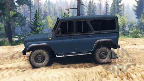 UAZ-3159 bares v2.0 para Spin Tires