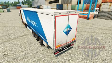 ARAL pele para reboques para Euro Truck Simulator 2
