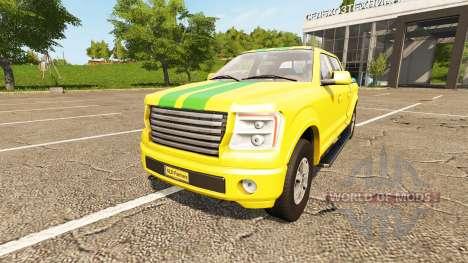 Lizard Pickup TT Service v1.1 para Farming Simulator 2017