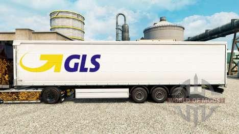 Pele GLS para reboques para Euro Truck Simulator 2