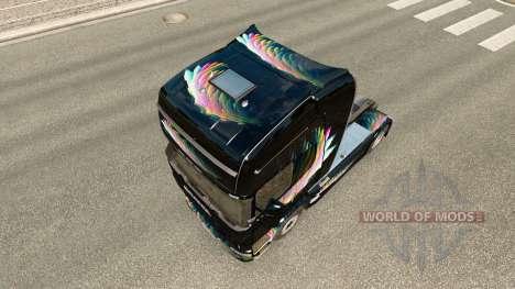 FDT pele para a Renault Magnum unidade de tracio para Euro Truck Simulator 2