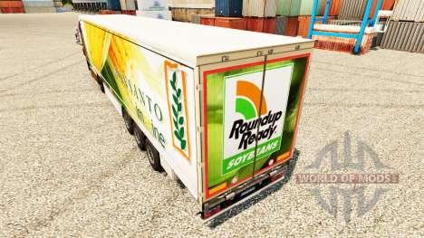 Pele Roundup Ready na semi para Euro Truck Simulator 2