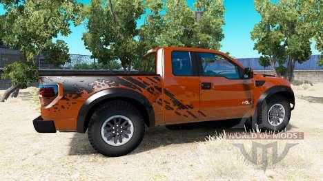 Ford F-150 SVT Raptor v1.5 para American Truck Simulator