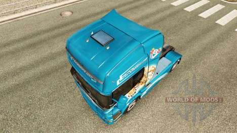 Pele O Grifo trator Scania para Euro Truck Simulator 2