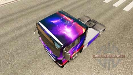 Pele Tempestade no trator HOMEM para Euro Truck Simulator 2