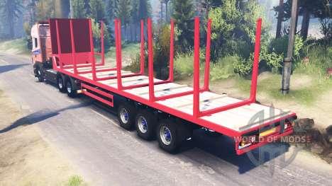 Scania R620 v2.0 para Spin Tires