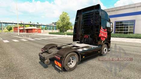 Hell Raisers pele para a Volvo caminhões para Euro Truck Simulator 2
