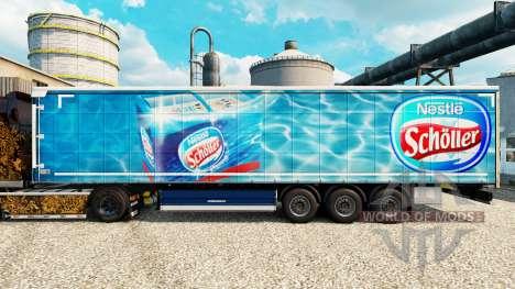 A nestlé Scholler pele para reboques para Euro Truck Simulator 2