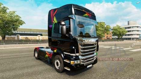 FDT pele para o Scania truck para Euro Truck Simulator 2