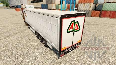 Pele Adin no semi para Euro Truck Simulator 2
