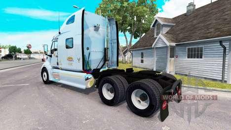 Mercer pele para o caminhão Peterbilt 387 para American Truck Simulator