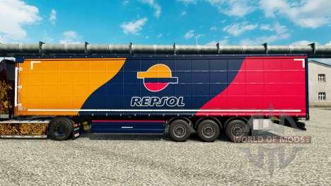 A pele da Repsol para reboques para Euro Truck Simulator 2