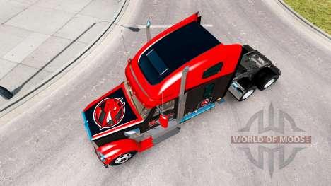 Скин Inferno Bebida Energética на Freightliner C para American Truck Simulator