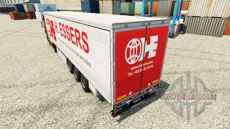 H. Essers pele para reboques para Euro Truck Simulator 2