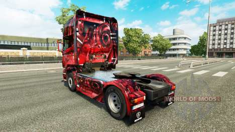 Hintergrund pele para o Scania truck para Euro Truck Simulator 2