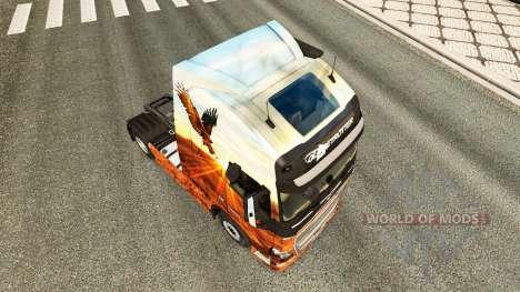 Espírito livre pele para a Volvo caminhões para Euro Truck Simulator 2