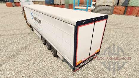 Pele Hochtief para reboque para Euro Truck Simulator 2
