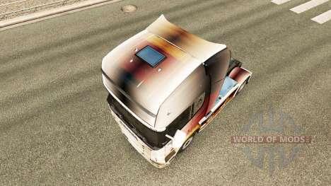 A pele da Copa do Mundo de 2014, no tractor Scan para Euro Truck Simulator 2