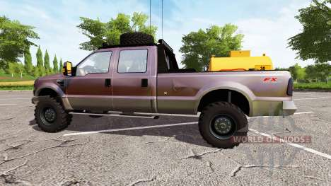 Ford F-250 FX4 king ranch para Farming Simulator 2017