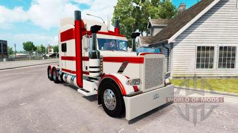 Pele de Coelho do Rio para o caminhão Peterbilt  para American Truck Simulator