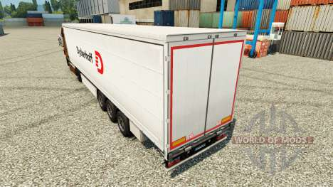 Dyckerhoff pele para engate de reboque para Euro Truck Simulator 2