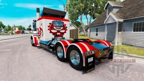 Pele Jammin Mudanças para o caminhão Peterbilt 3 para American Truck Simulator